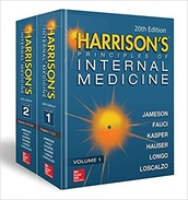 Harrison's Principles of Internal Medicine, 20e  (Vol. 1 & Vol. 2)